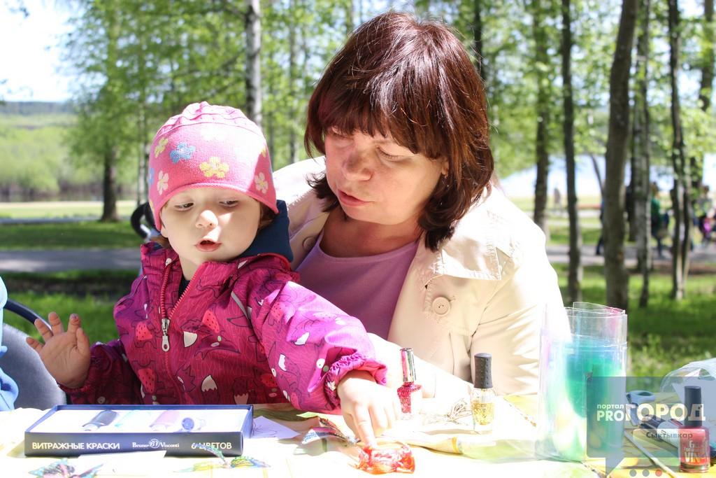 Кировский парк Сыктывкара в День города превратился в экоплощадку, фото-1