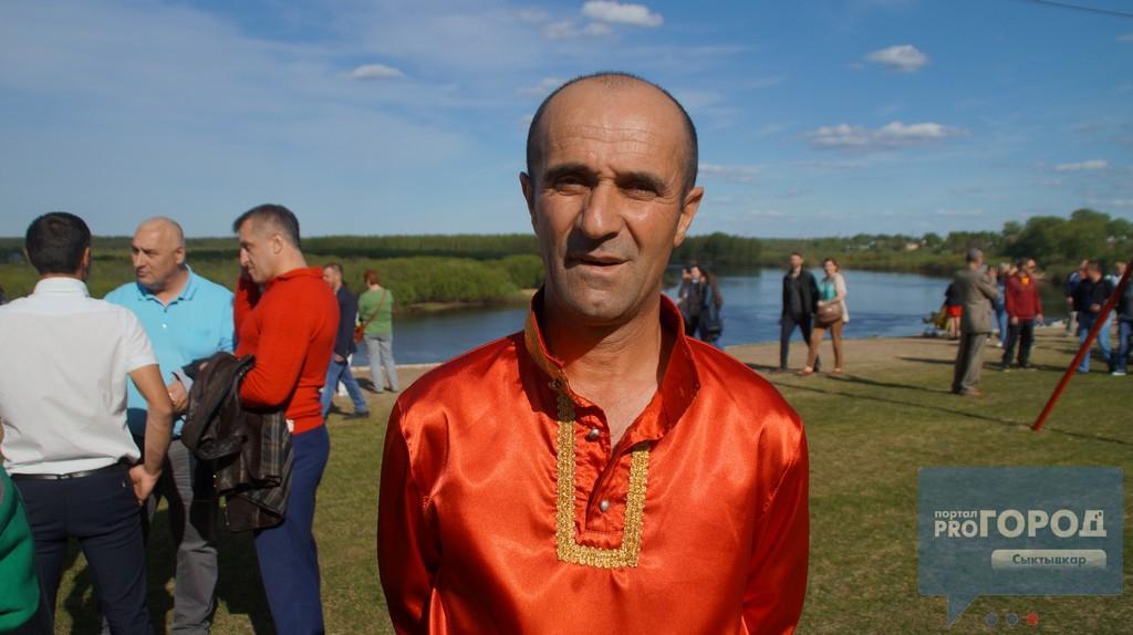 Дагестанский канатоходец в Сыктывкаре исполнил смертельный номер, фото-3