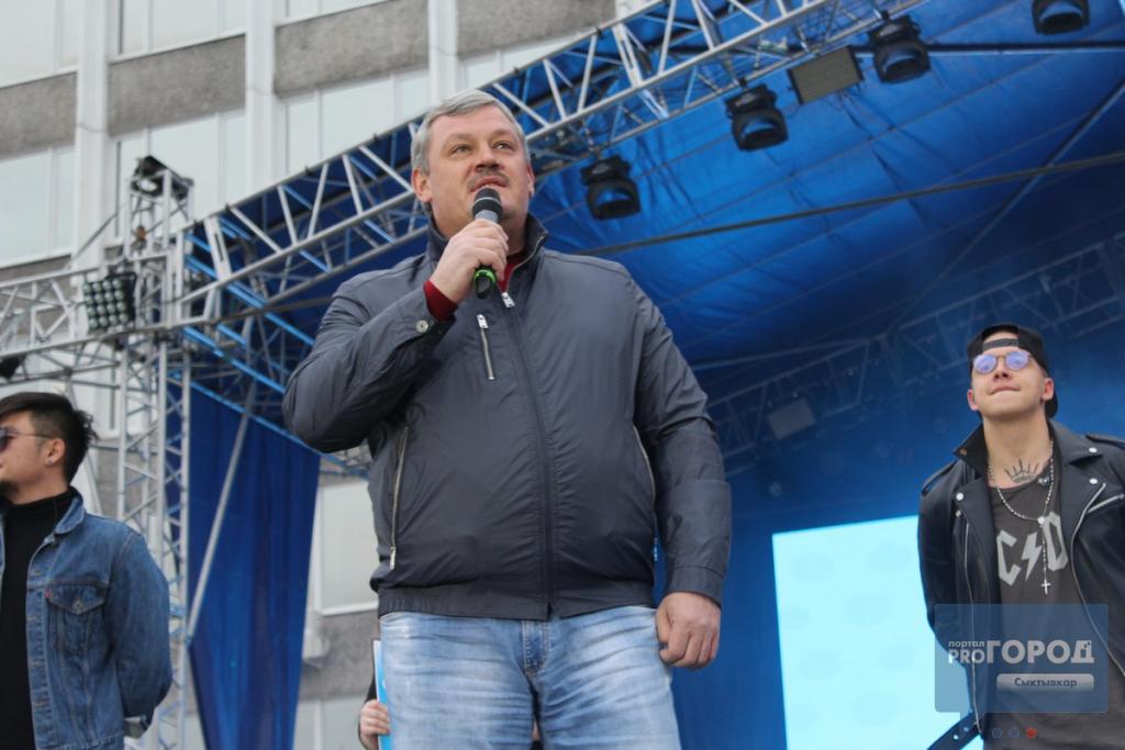 На концерте группы MBAND в Сыктывкаре люди падали вместе с ограждениями, фото-2