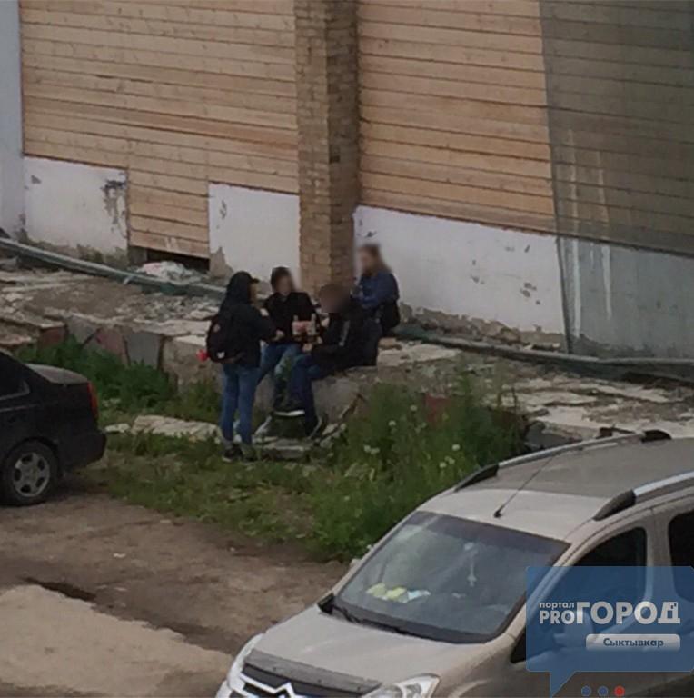 Пьяные малолетки оккупировали район старого рынка в Сыктывкаре, фото-1
