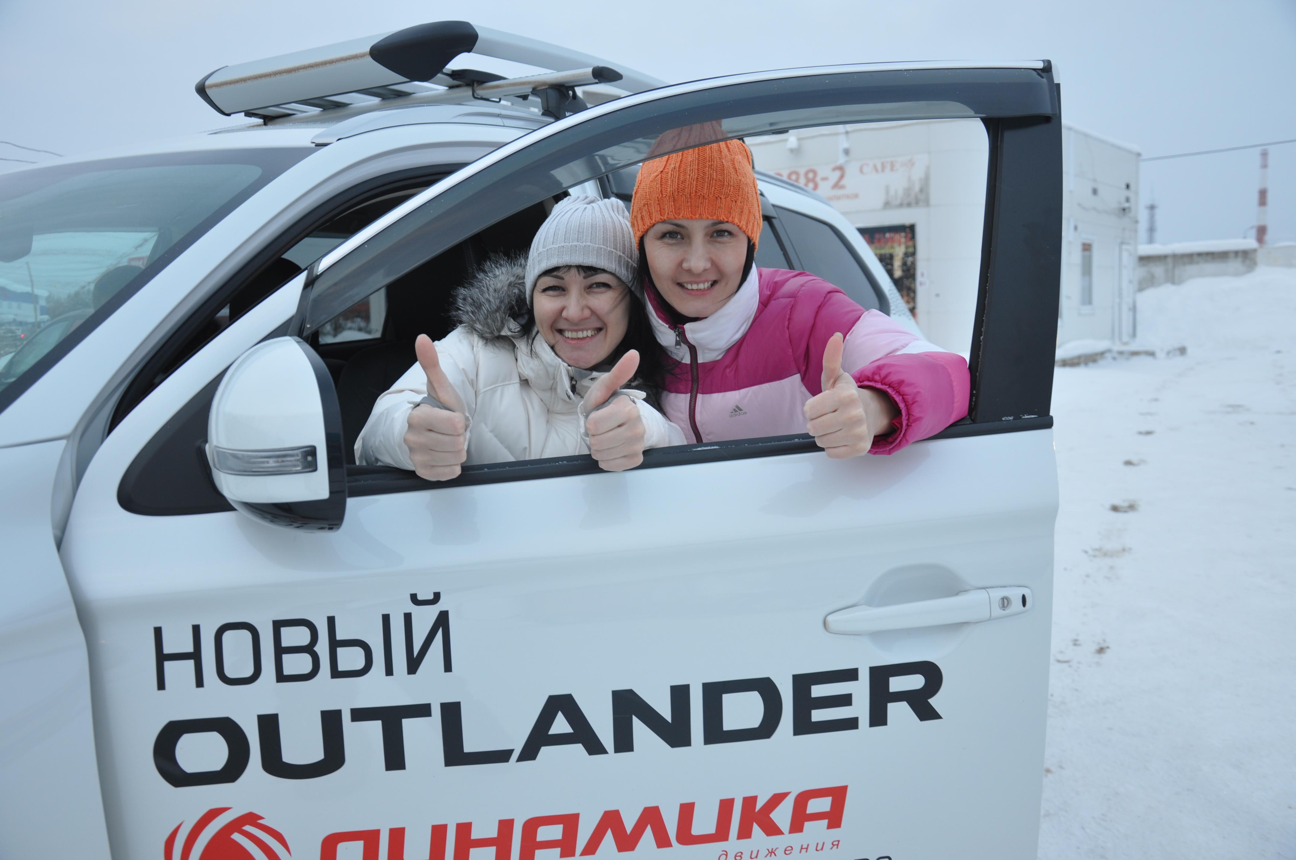 Автосалон «Динамика» дилерский центр Mitsubishi устроил внедорожное приключение для ухтинцев 16+