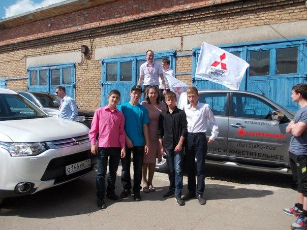 Автосалон «Динамика» в Сыктывкаре устроил праздник для воспитанников интерната