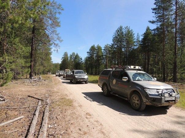 Сыктывкарские экстремалы 8 дней путешествовали по бездорожью вместе с Mitsubishi.