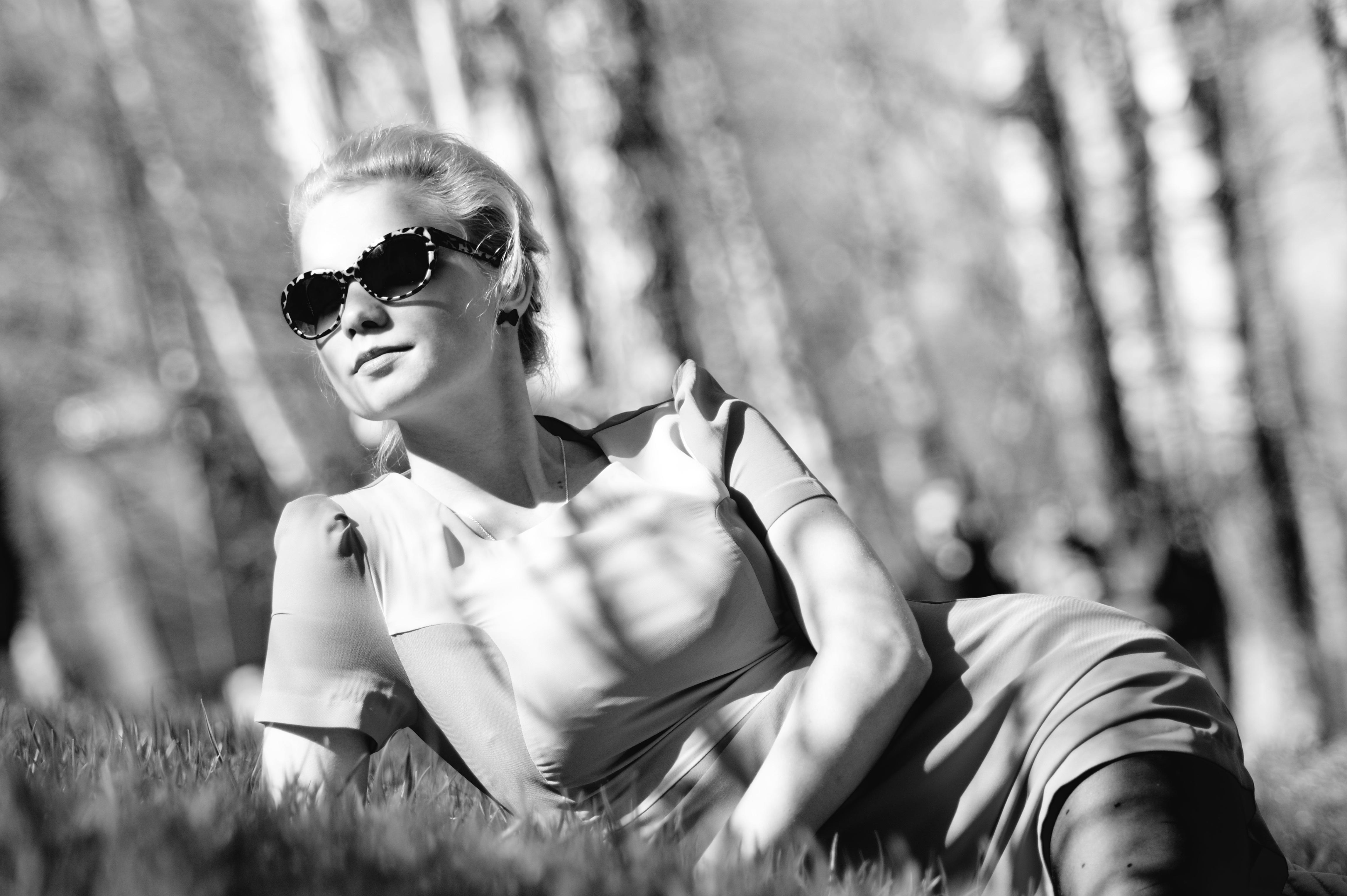Фото красивое девушек черно белое секс 22 фотография