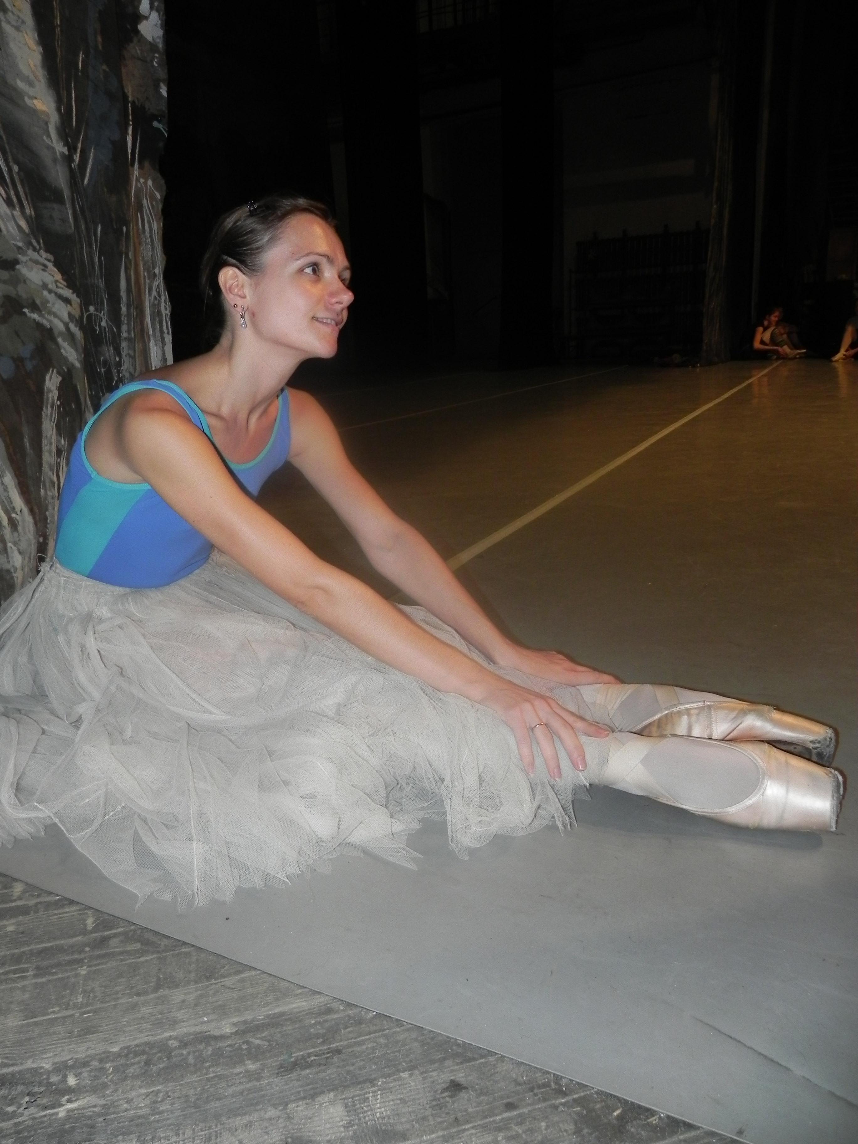 Фото репетиции балерины 28 фотография