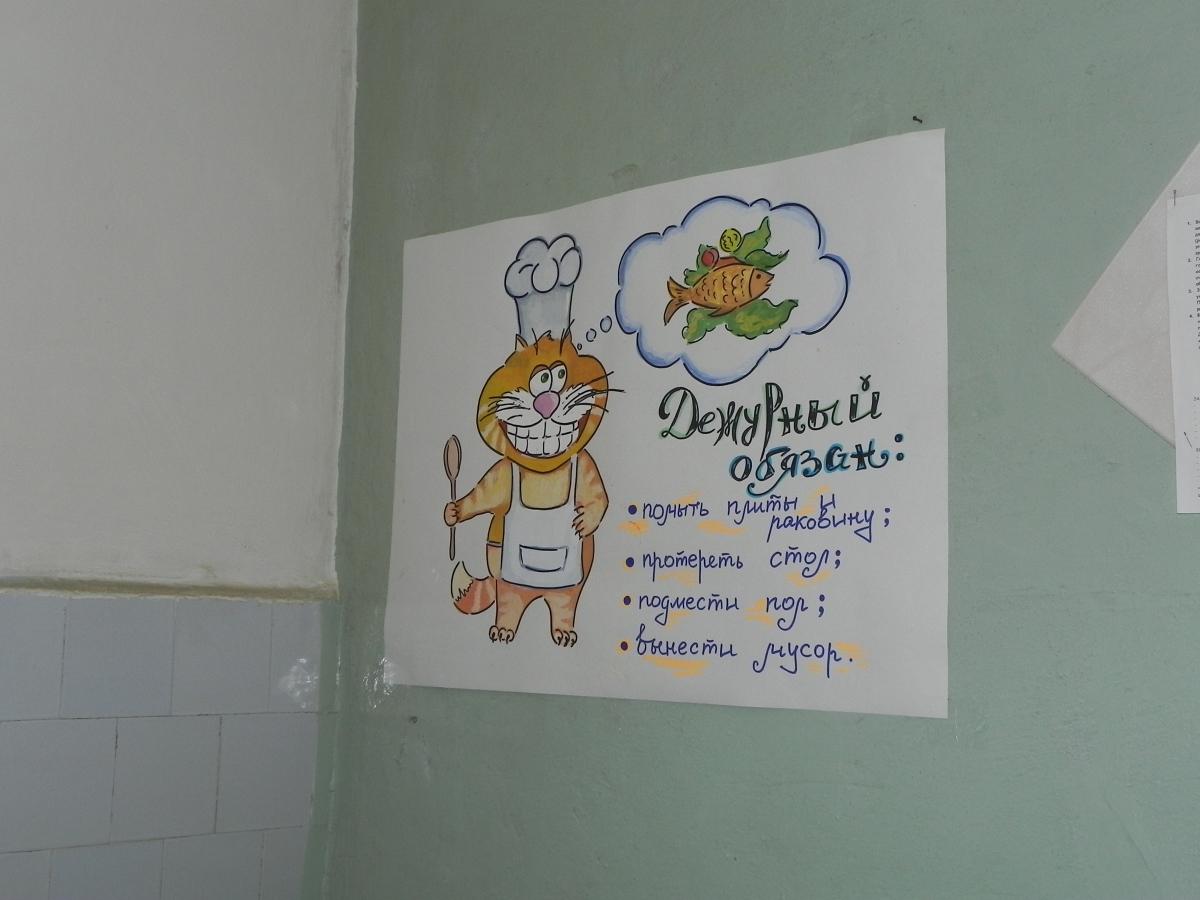 Картинки дежурств по кухне