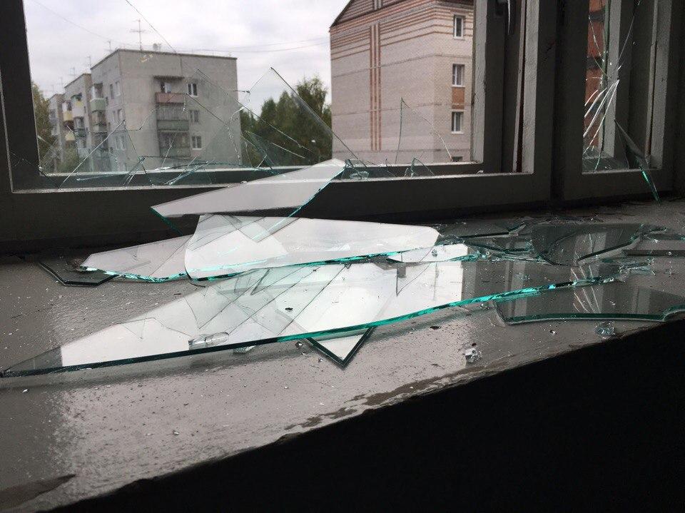 нужно разбитое окно от рогатки фото быть, это
