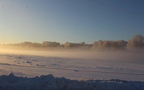На территории Коми свирепствуют морозы, МЧС предупреждает об опасности
