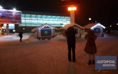 Сыктывкарский «Биг Бен» на морозе приказал долго жить (фото)