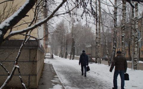 Погода в Сыктывкаре на 17 ноября: слякоть и лужи на улицах города