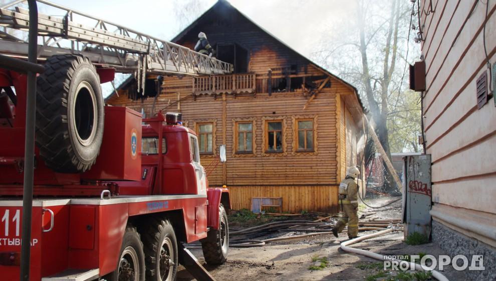 Подозреваемый в поджоге музея «Изьва керка» в Сыктывкаре задержан
