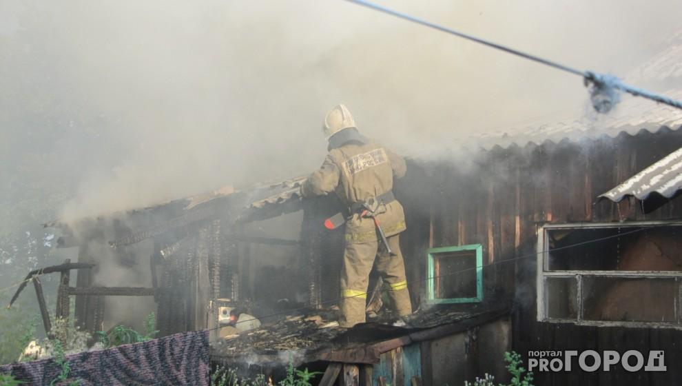 В Коми на пожаре погиб мужчина