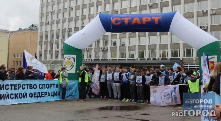 Пять тысяч сыктывкарцев приняли участие в «Кроссе нации - 2016»