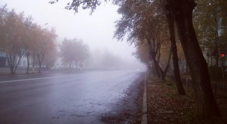 Сыктывкарское утро 2 октября в Instagram: туманный город и горячий чай