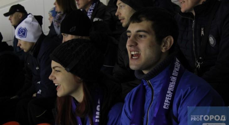 Лица города: 20 фотографий болельщиков на матче по хоккею с мячом в Сыктывкаре