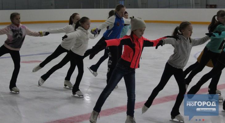 Фоторепортаж: как сыктывкарские фигуристы готовятся к премьере ледового шоу (фото, видео)