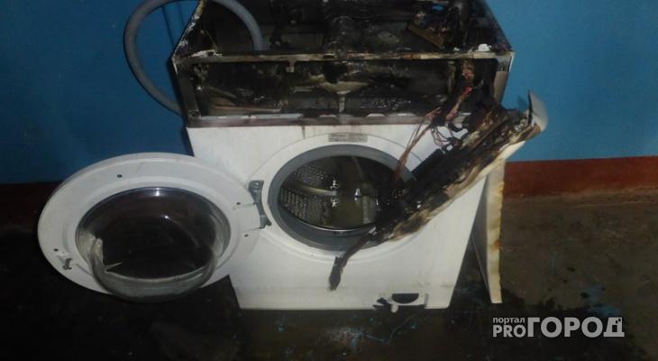 В Коми мужчина нашел стиральную машинку с гранатой внутри