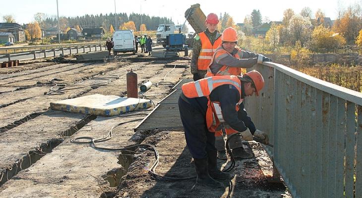 В Сыктывкаре строят новый мост (фото)