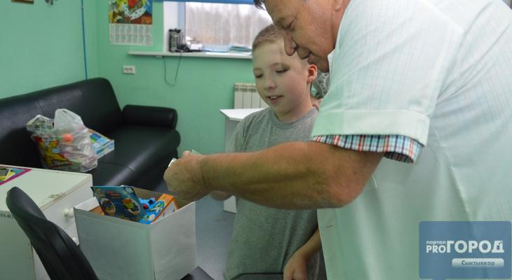 «Шкатулка мужества» помогла первому ребёнку в Сыктывкаре