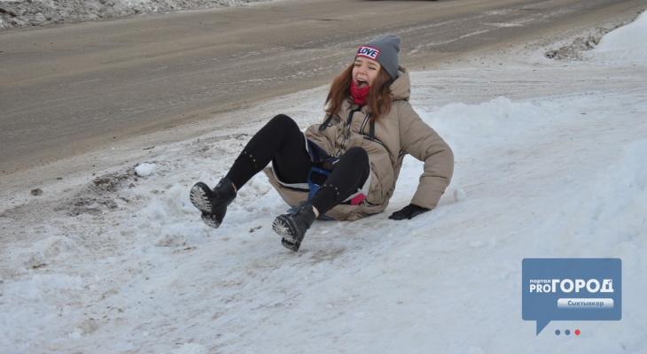 Тест-драйв дорог: как в Сыктывкаре борются с гололедом (фото, видео)