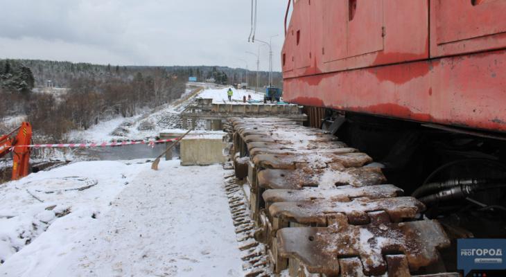 Названы сроки сдачи нового моста через реку Човью в Сыктывкаре
