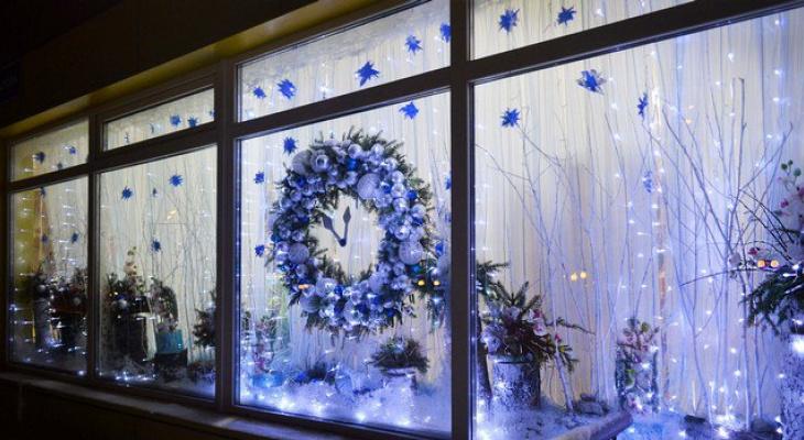 Названы места в Сыктывкаре, которые были украшены к Новому году ярче всего