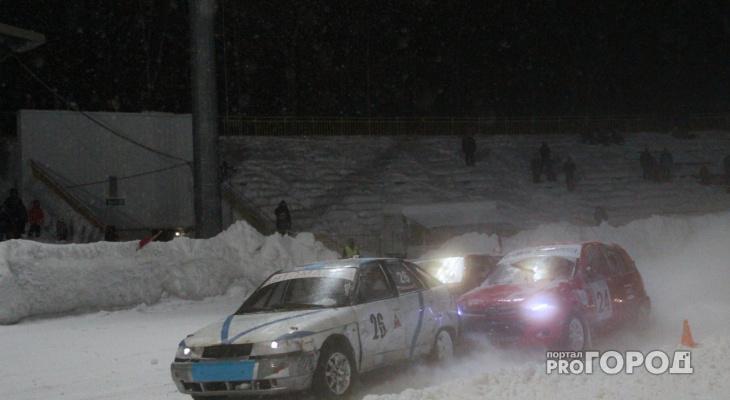 В Сыктывкаре на гонках «СуперШип» водитель попал под колеса своего автомобиля (фоторепортаж)