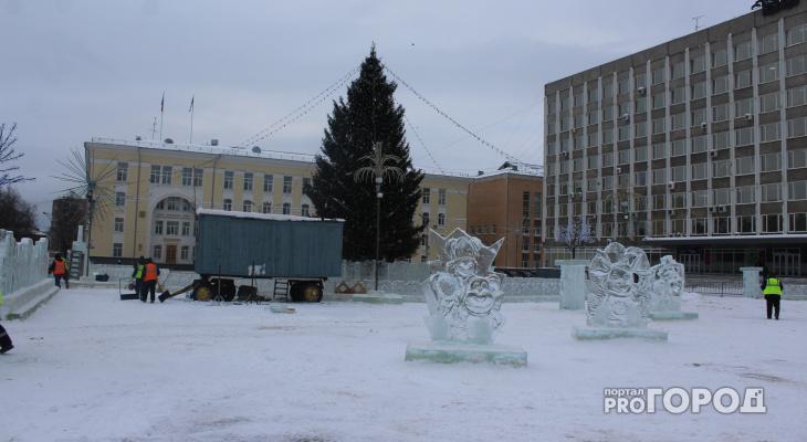 Названа дата, когда со Стефановской площади Сыктывкара уберут ледовый городок