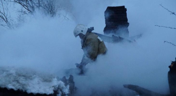 У жителей Коми дотла сгорела усадьба вместе со всеми постройками