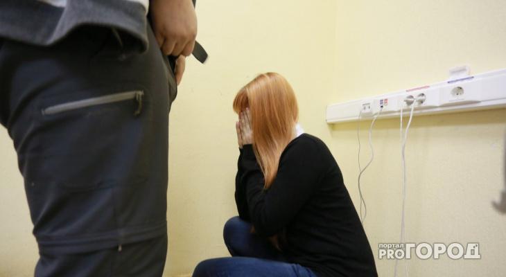 проститутка избили