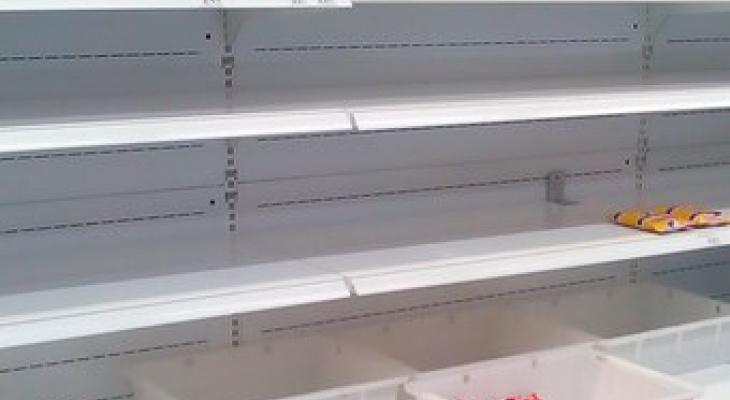 Жители Коми толпой опустошили полки крупной сети супермаркетов (фото)