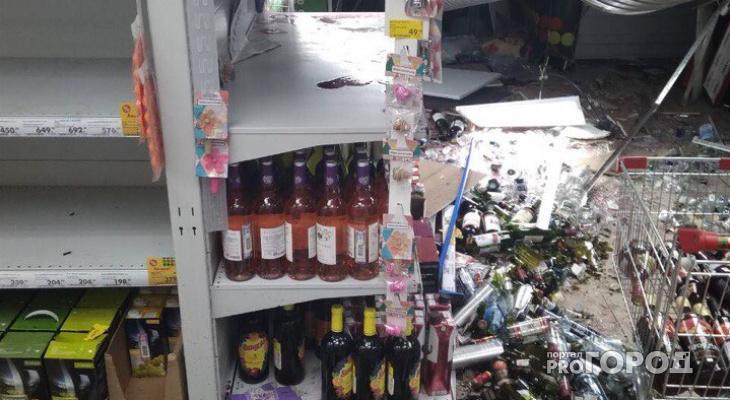 Жители Коми ограбили «Пятерочку», у которой обвалилась крыша