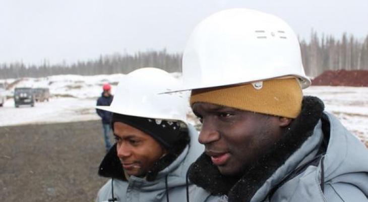 На рудниках в Коми работают темнокожие студенты из Африки