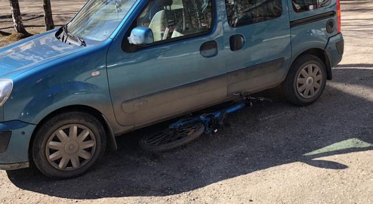 Утром в Сыктывкаре сбили сразу двух велосипедистов (фото)