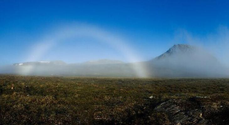 В горах Коми сфотографировали необычное природное явление