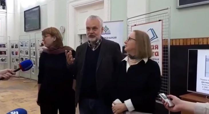 В Сыктывкаре известного российского писателя остановили полицейские