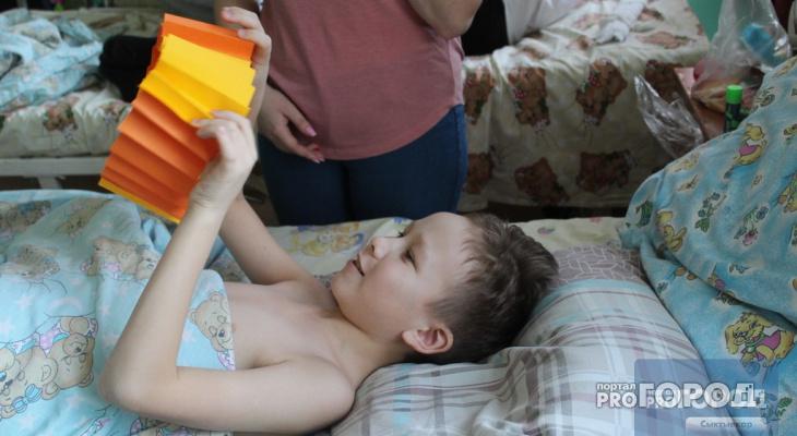 В Сыктывкаре объявлен срочный сбор игрушек для детей из травматологии