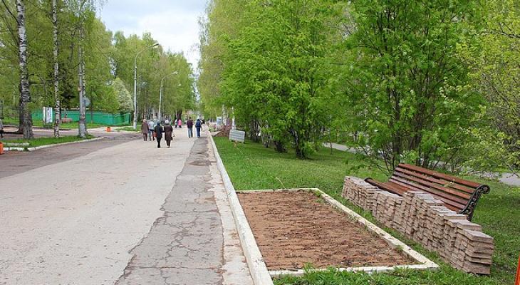 В Сыктывкаре приводят в порядок любимую пешеходную улицу горожан (фото)