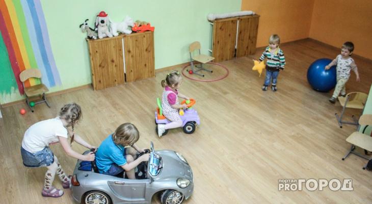 В детских садах Сыктывкара не хватает 1100 мест для детей