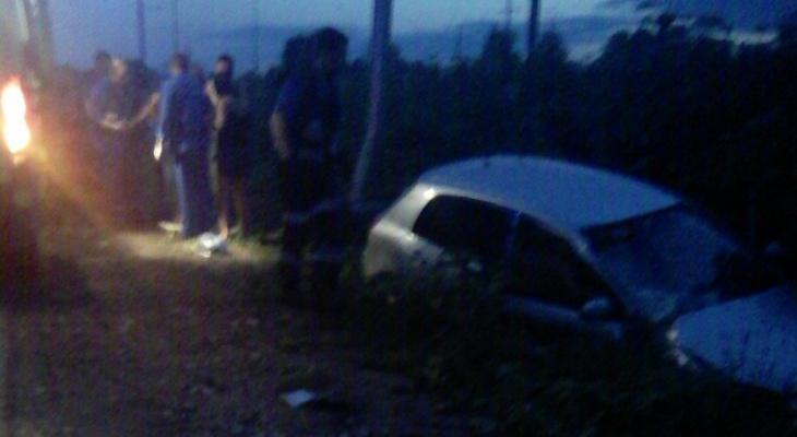Один из пострадавших в ДТП с «Тойотой», которая вылетела в кювет в Сыктывкаре, был пьян