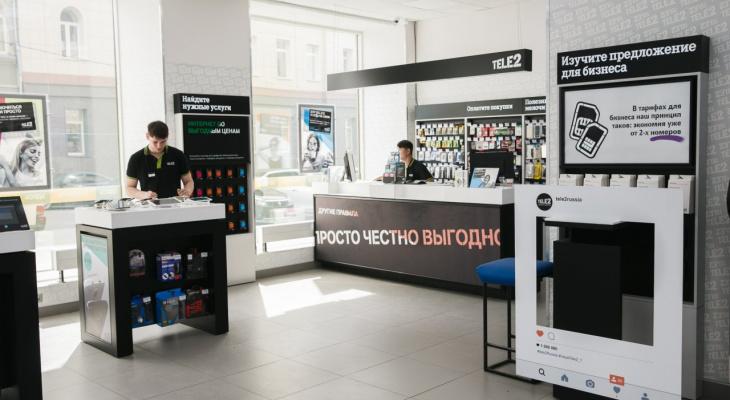 В республике Коми растет количество точек продаж Tele2