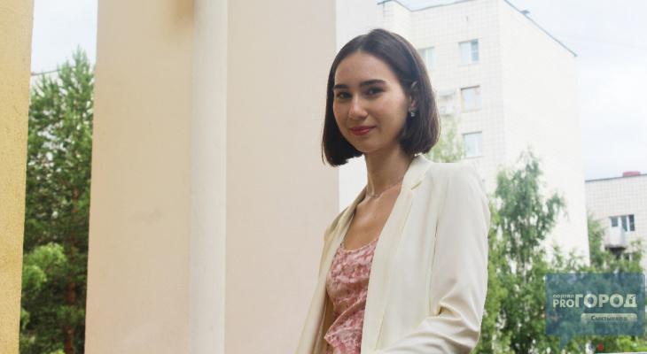 Красивая, но умная: сыктывкарская школьница рассказала, как сдала ЕГЭ на 100 баллов