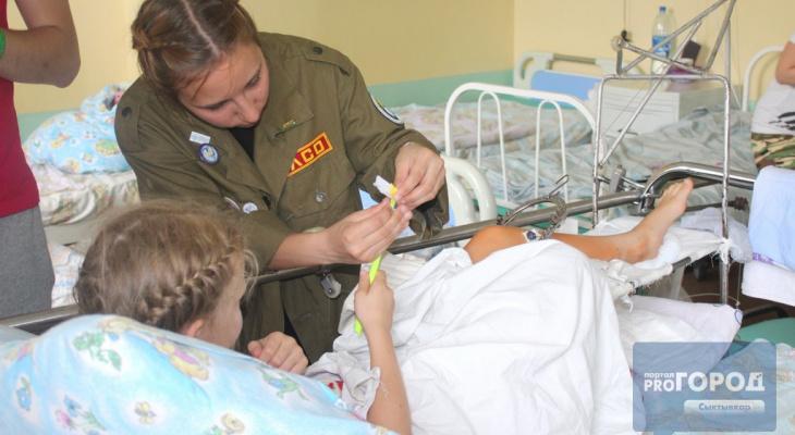 «Шкатулка мужества» опустела: маленьким пациентам травматологии Сыктывкара нужна помощь