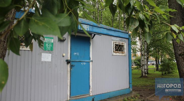 Где находятся общественные туалеты в Сыктывкаре и как они работают