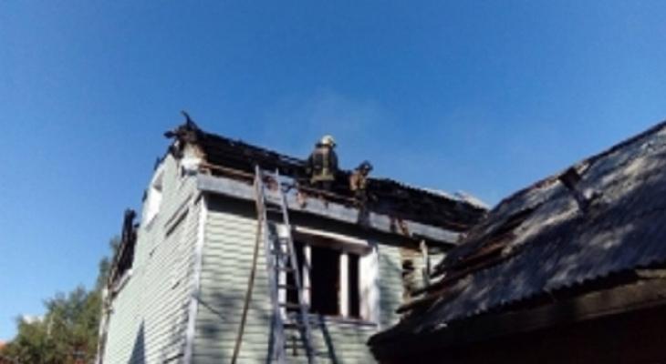 В Сыктывкаре в сгоревшем доме нашли труп женщины