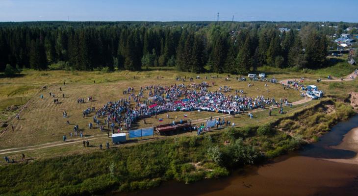 На границе с Коми состоялся митинг против гигантской свалки отходов