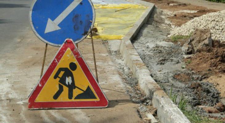 В Сыктывкаре перекрыли одну из оживленных улиц, на очереди еще две