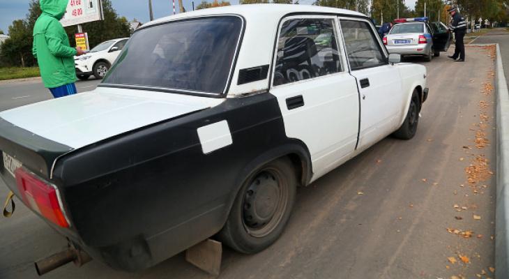 Сыктывкарские автоинспекторы устроили погоню за тонированной «классикой»