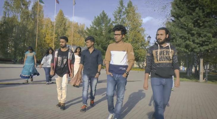 Студенты из Индии рассказали, каким они видят Сыктывкар (видео)