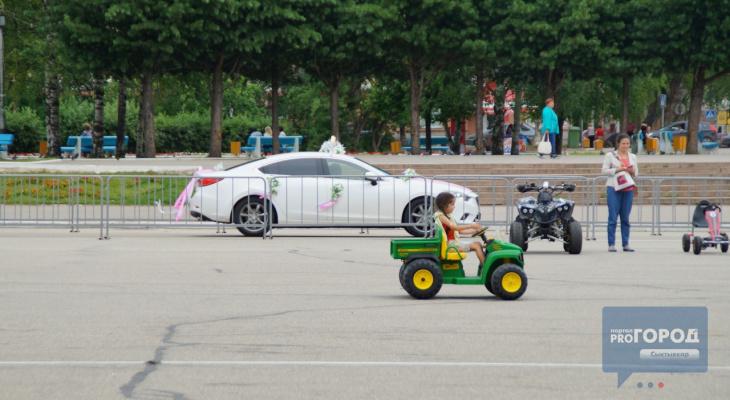 Сыктывкарские автолюбители вновь смогут колесить по Стефановской площади